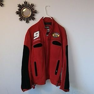Rare Chase Authentic leather Sports Jacket